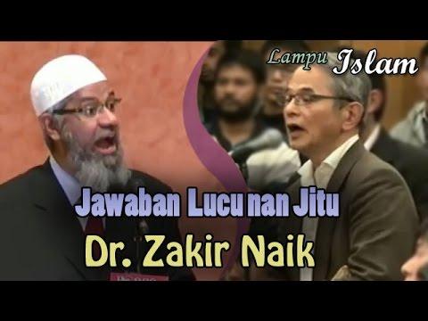 Jawaban Lucu Dr. Zakir Naik Pada Guru Jepang