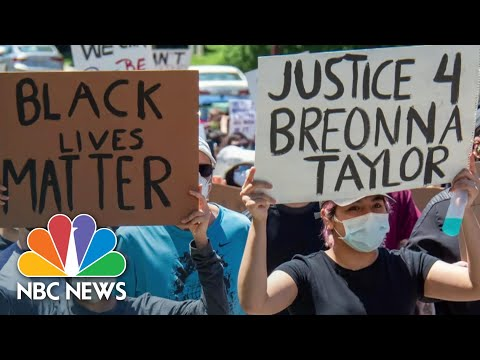 Officer Involved In Shooting Death Of Breonna Taylor Fired For Misconduct | NBC Nightly News