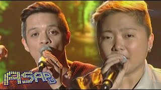 "Bamboo, Charice sing ""Ordinary People"" on ASAP"