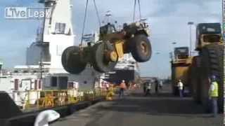 Loading 400+ Tons Of Machinery Fail...