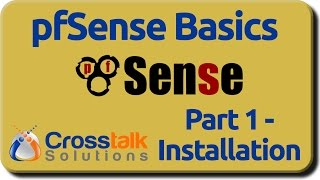 pfSense Basics - Part 1 - Installation
