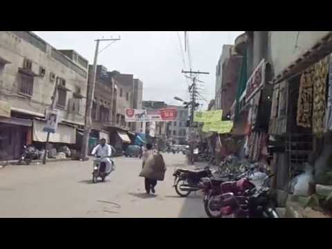 Sialkot City (Pakistan) | Walk From College Road to Buchar Khana Road