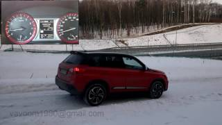 Suzuki Vitara S Turbo 4x4 winter test - Hill Hold Control