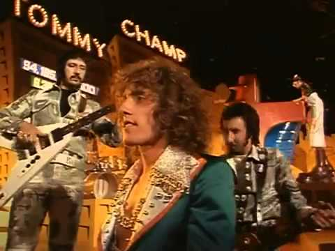 The Who & Elton John  Pinball Wizard Tommy 1975