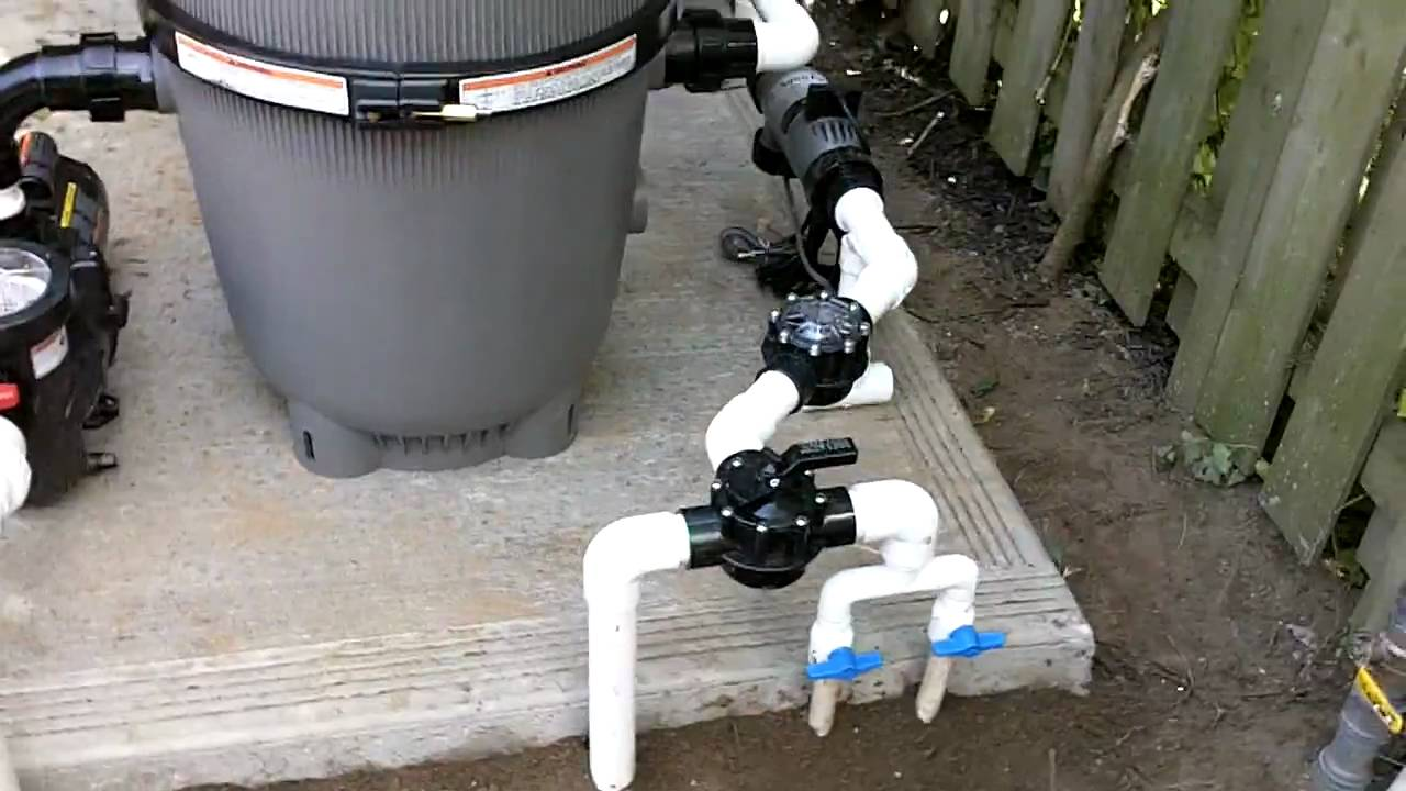 Typical plumbing system for your swimming pool youtube for Swimming pool equipment layout