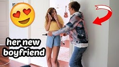 Surprising Annie... with her BOYFRIEND!