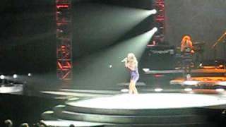 carrie underwood concert last name american airlines center dallas texas 10 9 10