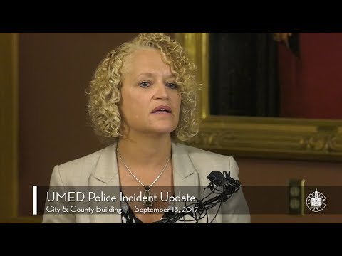 Press Conference: Update on SLC Police and UMED Incident