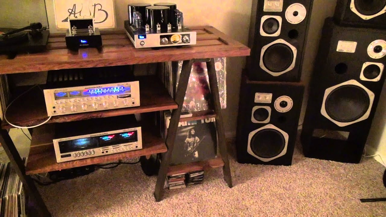 Tube Amp Vinyl Marantz Hd660 Speakers Youtube