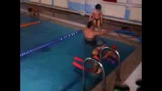 Совместная работа с родителями по обучению детей плаванию