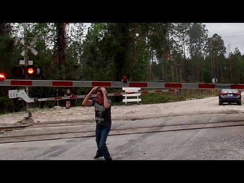 Railroad Crossing Gate Head Bangers