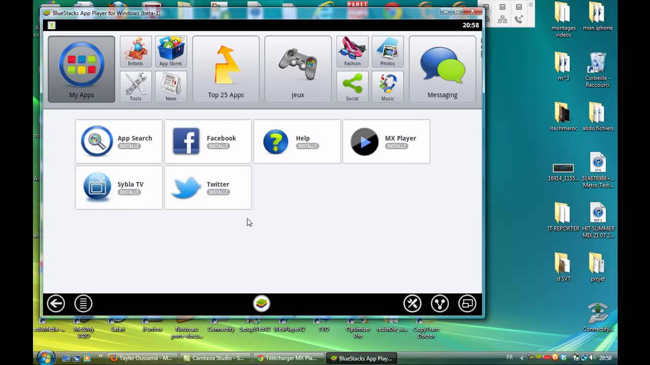 sybla tv pour pc windows 7