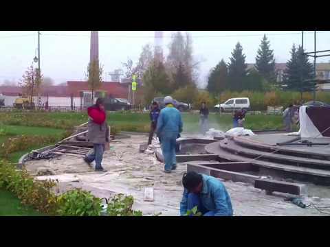 История строительства мемориала Слава воинам России  в с. Ершово