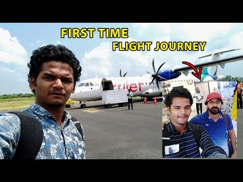 First Time Flight Journey Experience | Salem to Chennai Airp