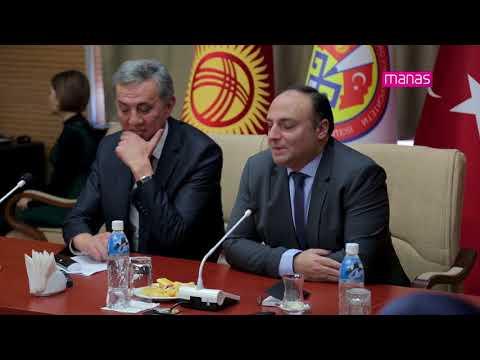 Yeni Atanan Türkiye Cumhuriyeti Bişkek Büyükelçisi, Manas Üniversitesi'ni Ziyaret Etti