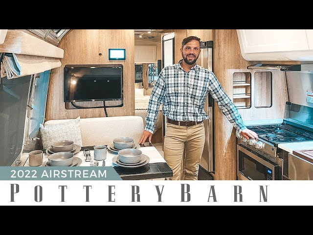 MUST SEE!!! 2022 Airstream Pottery BarnSpecial Edition | Full Walk Through Tour
