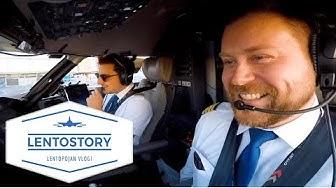 Lentostory: Lento Riika-Tukholma