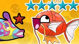 Ranking Every Fish Pokemon