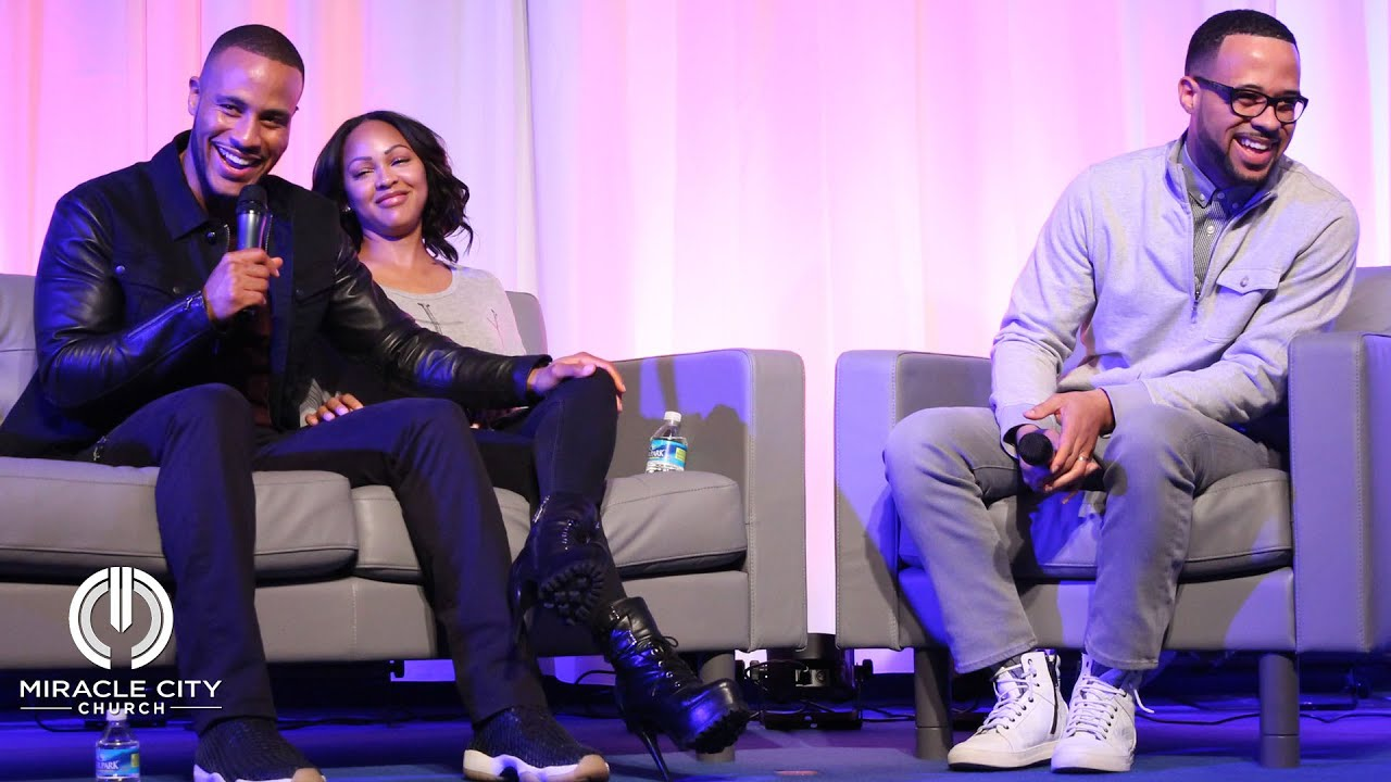 An intimate conversation with devon franklin meagan good youtube baditri Images
