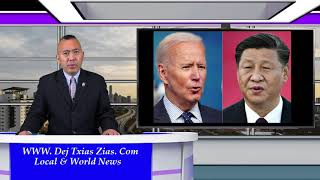 10/9/21. Biden Hu Xov Tooj Nrog Jinping Tham/Catholic Cov Txiv Plig Ntsib Teeb Meem Loj/Thaib Teb.