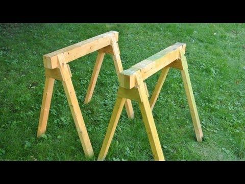 Building sawhorses
