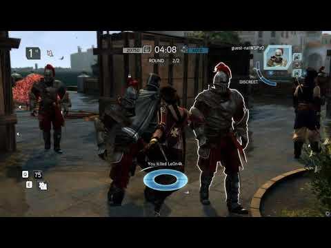 Assassin's Creed Revelations Multiplayer Manhunt-finally hit 10K+ points :D- |