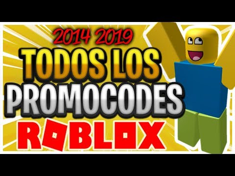 TODOS LOS CÓDIGOS PROMOCIONALES de ROBLOX!! (2020) - (JUNIO) ¡FUNCIONANDO!