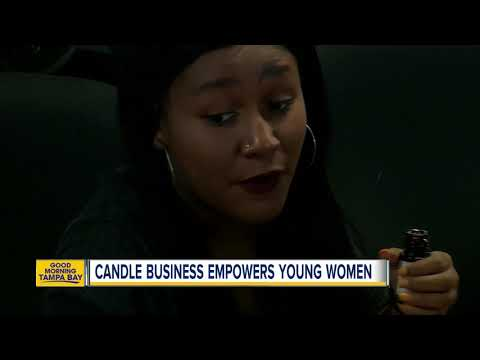Tampa candle business empowers young women