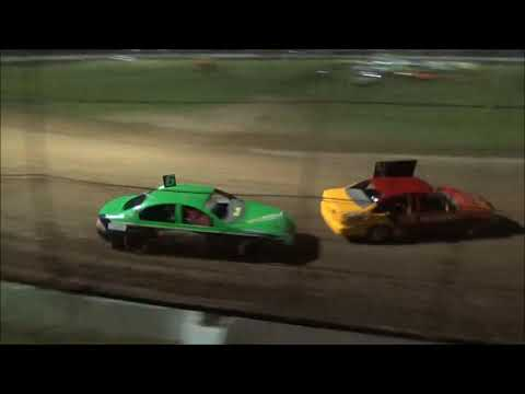 RSA Street Stockers Feature Race at Castrol Edge Lismore Speedway. 17.03.18. - dirt track racing video image