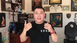 Vlog 2: CÁCH KHẮC PHỤC HÌNH XĂM BỊ MƯNG MŨ VÀ MÀI DÀY | SIN TATTOO