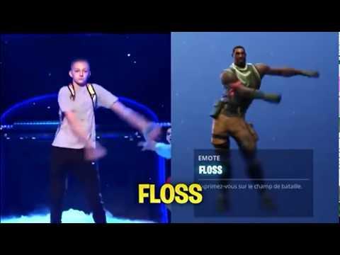 Fortnite Tänze gegen Tänze  im echten Leben Zahnseide,IDK LOL... | [Deutsch] Fortnite neue Tänze