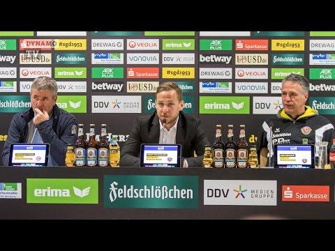 29. Spieltag | SGD - F95 | Pressekonferenz nach dem Spiel