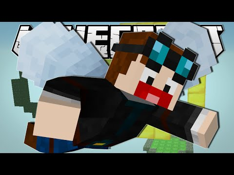 Minecraft | LEARNING TO FLY!! | Elytra Challenge Custom Map