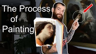 The Process of Painting. Cesar Santos vlog 072