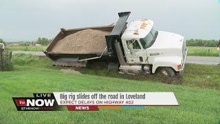 Dump Truck Stuck In Loveland