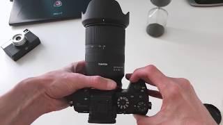 Розпакування об'єктива Tamron AF 28-75mm f/2.8 Di III RXD (A036S) Sony FE
