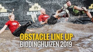 Mud Masters - Obstacle line up Biddinghuizen 21/22 september 2019