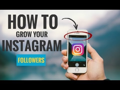 how to grow instagrmam follwers