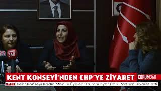 KENT KONSEYİ'NDEN CHP'YE ZİYARET