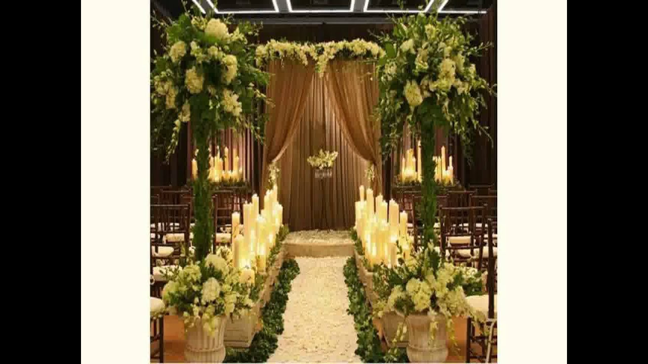 Church wedding decoration 2015 youtube junglespirit Images