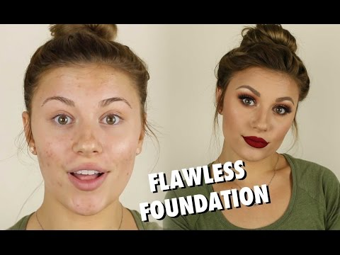 Flawless Full Coverage Foundation Tutorial