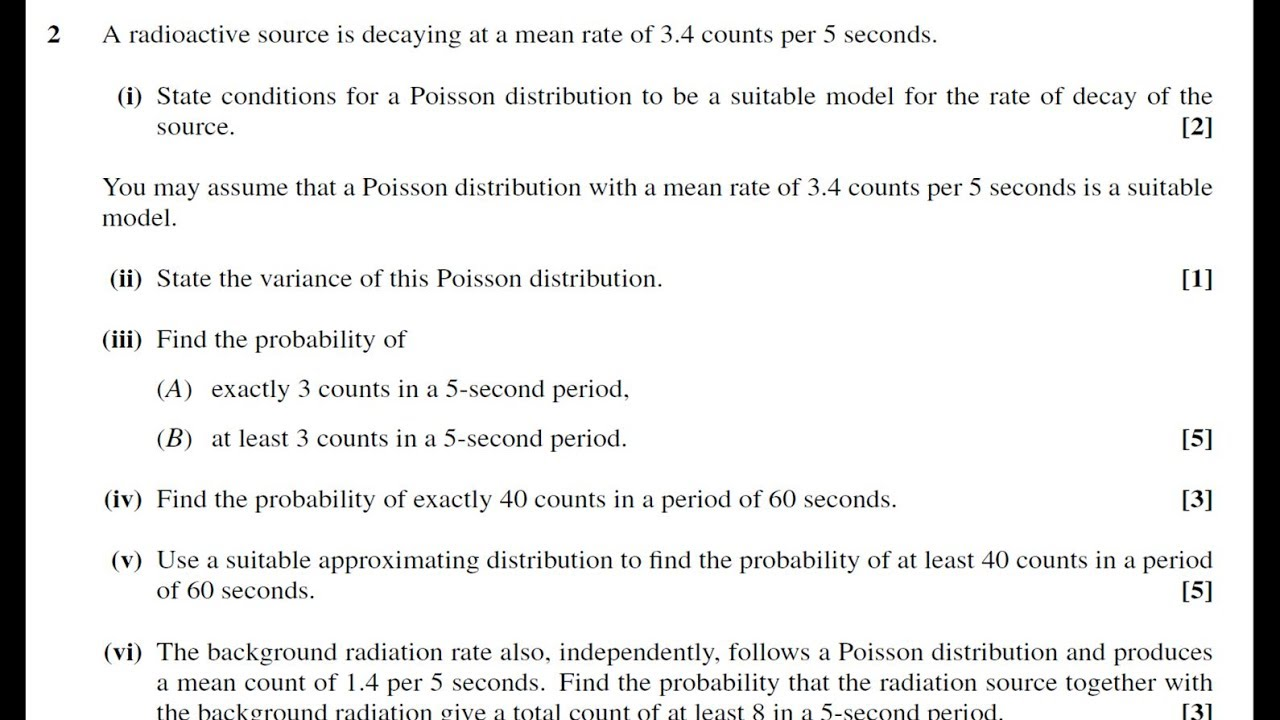 Mei S2 Poisson Distribution Confidence Interval For A Population Proportion  Using Statcrunch How To Find Standard