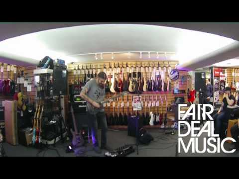 Paul Waggoner (Between the buried and me) Ibanez guitar clinic @ Fair Deal Music Birmingham