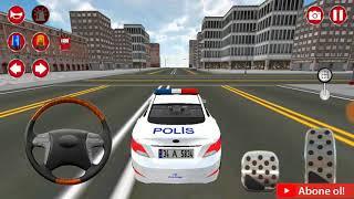 Çocuklara özel polis arabası oyunu/Eğlenceli araba yarışı Çocuklar için yarış oyunları