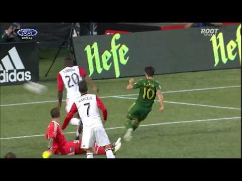 ¡Golazo a lo Leonel Messi! Sebastián Blanco, el crack de Portland Timbers | MLS