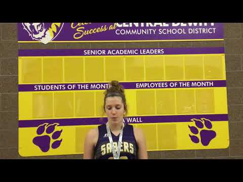 MTI Score Standout of the Week: Taylor Veach, Central DeWitt High School
