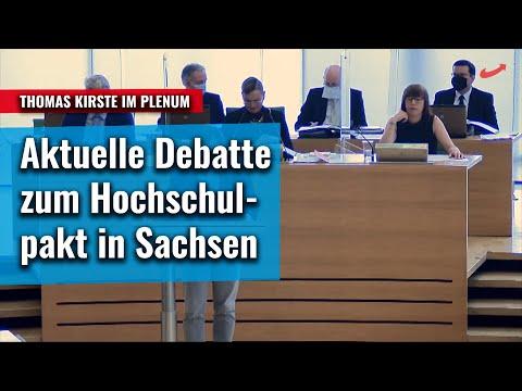 Aktuelle Debatte im Plenum zum Hochschulpakt: Thomas Kirste AfD