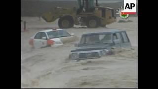 إعصار جونو 2007 مشاهد مؤلمة  Cyclone Gonu