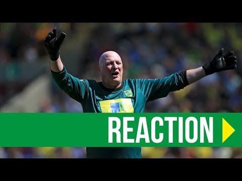 Norwich City Legends 1-2 Inter Forever: Bryan Gunn Reaction
