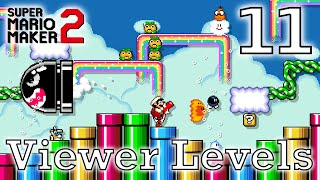 Playing Viewer Levels: Super Mario Maker 2 2019 Gameplay: Part 11